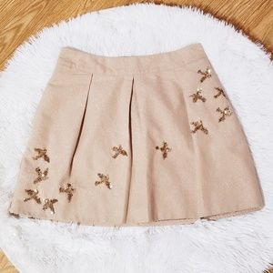 "Anthropologie Leifnotes ""Migration""  skirt  Z26"